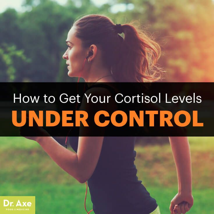 Cortisol levels - Dr. Axe http://www.draxe.com #health #Holistic #natural