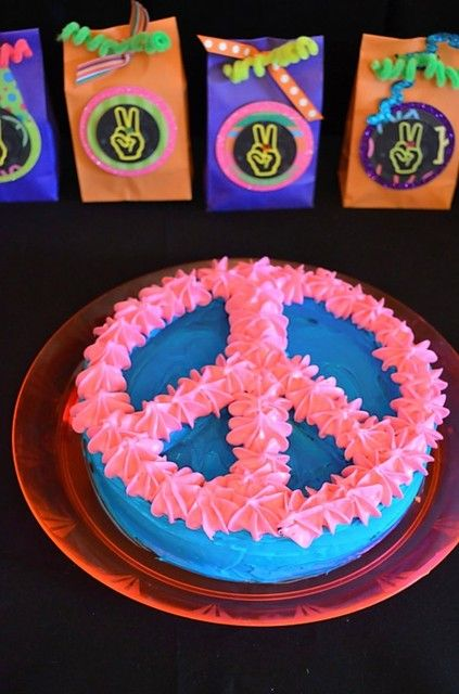 Peace cake: It may be time to retire my pink poodle birthday cake motif for a few years!