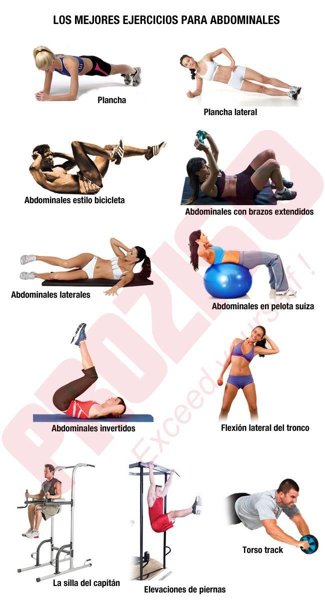 ¿Cuáles son los mejores ejercicios para abdominales? - Prozis