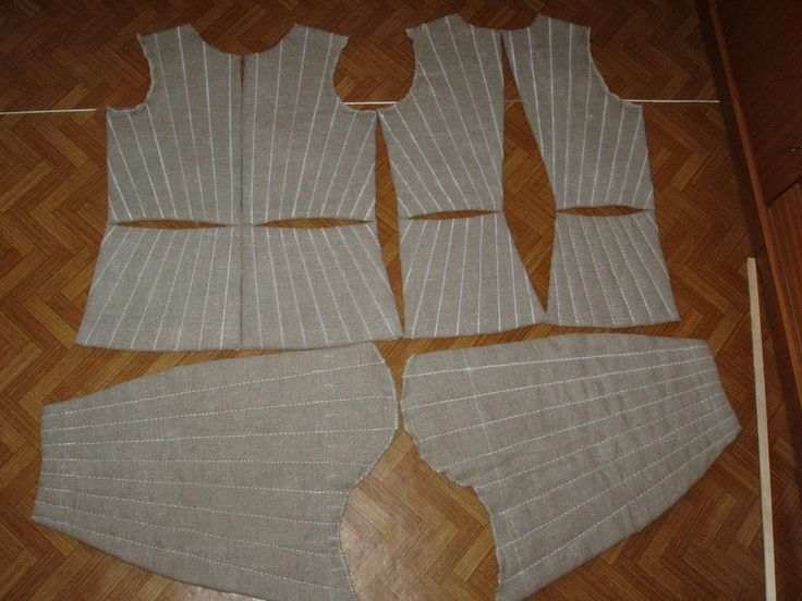 making of gambeson