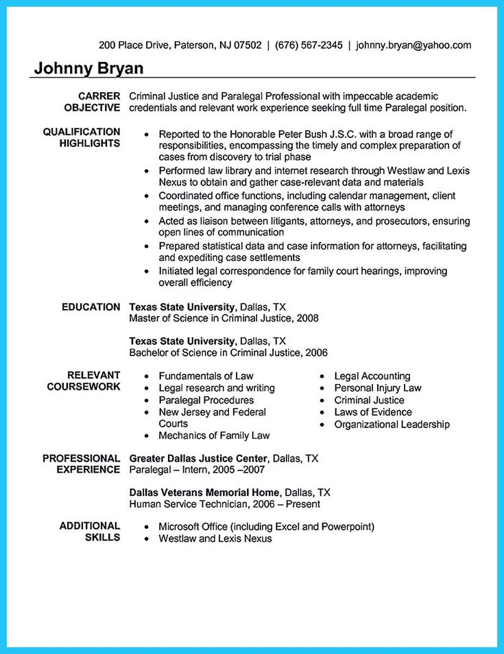 awesome arranging a great attorney resume sample - Criminal Justice Resume Samples