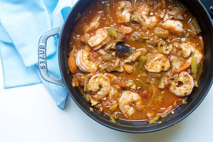 Poisson salé is a well-known stew in the cuisine of Gabon featuring the salted dried cod and other types of seafood