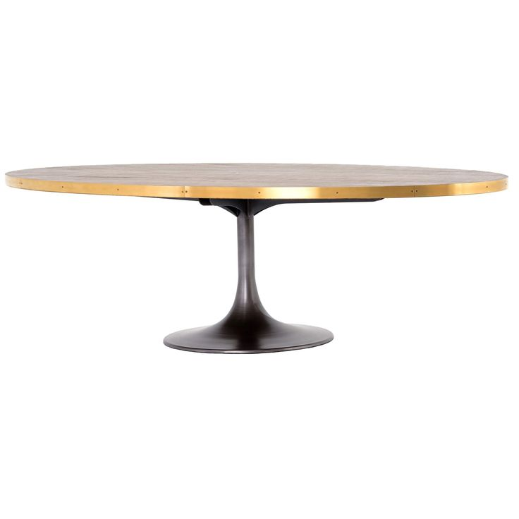 Evans Oval Dining Table - Dining Tables - Dining - Furniture