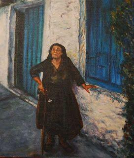 The White Napkin - ©Æ Sastrias 1986 - oil on canvas 20 x 30 cm