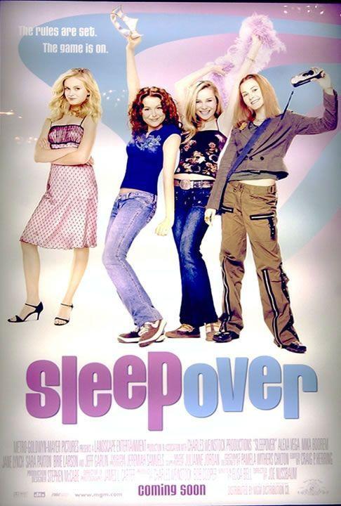 2004 Movies   Sleepover Movie Poster - Internet Movie Poster Awards Gallery
