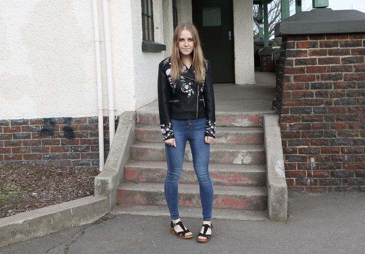 The Embroidered Leather Jacket