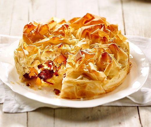 Pikanter Kürbis-Strudel-Kuchen | Betty Bossi