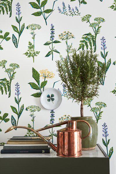 Scandinavian Designers II Köksväxter Floral 33' x 21
