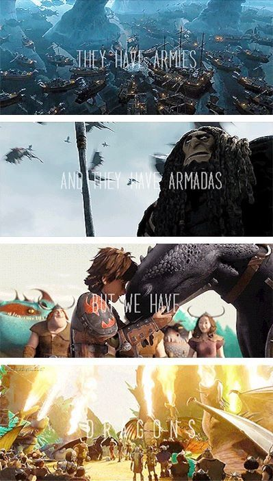 But we have OUR DRAGONS!!!!! I love how Hiccup shouts it out at the end of the movie!!!!!!