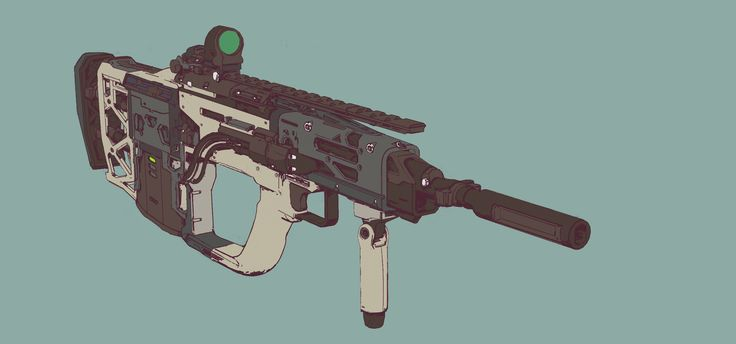 ArtStation - Gun Run 04, Elijah McNeal