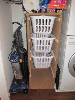 Ana White Laundry Basket Dresser | Charlie The Cavalier