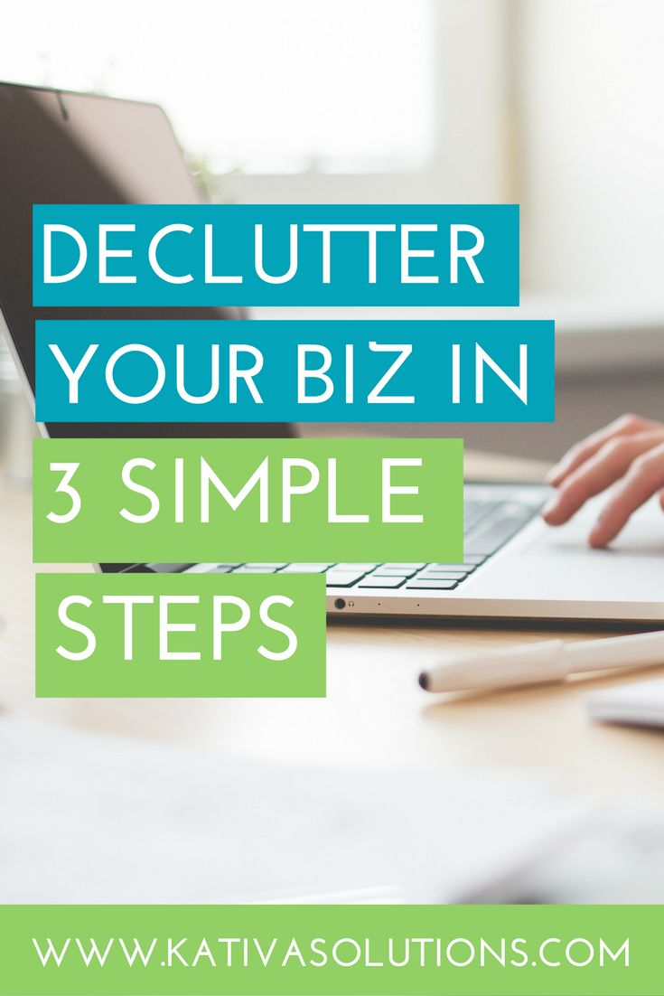 My best tips for decluttering your business and staying organized. Use these tips to boost your small business productivity.
