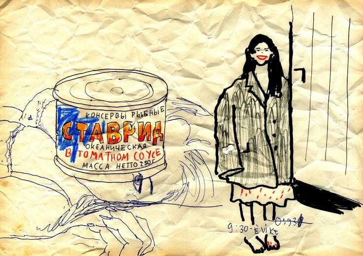 I. EPIFÁNIA, VAGY AMIT AKARTOK (1984 január 6, Vízkereszt)   A csoda fél tíz körül következett be. Az előző napról megmaradt félkonzervdoboznyi szovjet makrellát faltam éppen. Kicsit már berozsdált, a snidling és a citrom se segített rajta igazán. Már a tunkolásnál tartottam, amikor megszólalt a csengő. Nagyon szerettem volna, ha ő lett volna az, de erre csak az nyújtott némi reményt, hogy direkte megkértem: ne csöngessen, mert fölzavarja a nagyanyámat. Hatalmas, sötétszürke férfi télikabát…