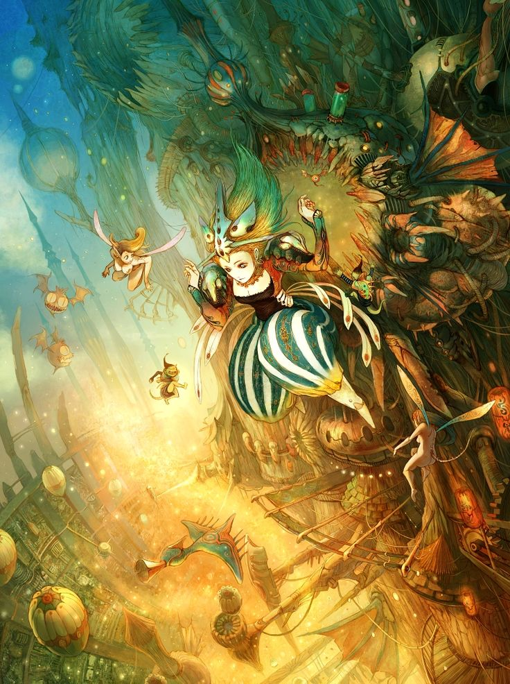 Wonderful Illustration of Alice in Wonderland