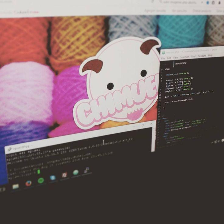 Feliz!! La web terminada funcionando el servidor corriendo los css estructurados las bases de de datos correctas y php al pelo! #finally #webdevelopment #html5  #javascript #jquery #ePixelWebDev #scripts #php5 #vps #ubuntu #ubuntu1410 #chimuelocreaciones #amigurumis #meMerezcoUnaCerveza