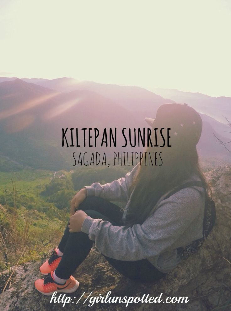 Kiltepan Sunrise in Sagada, Philippines:
