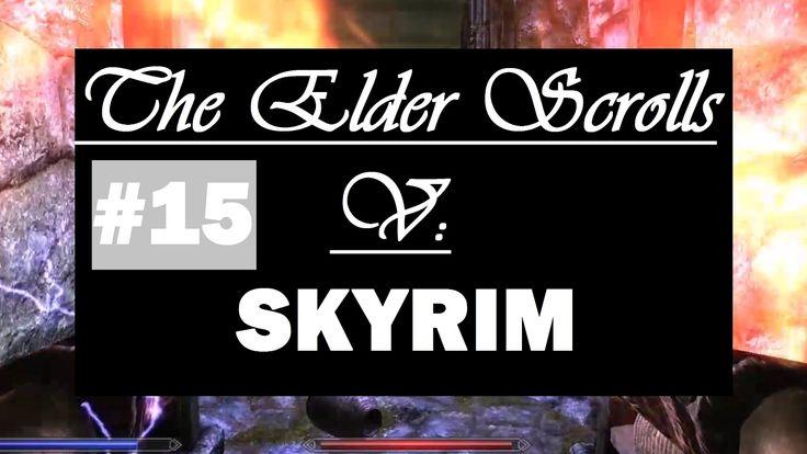 Let's Play Skyrim #15 - Auf in den Kerker der Dämmerlich Festung [Faceca...
