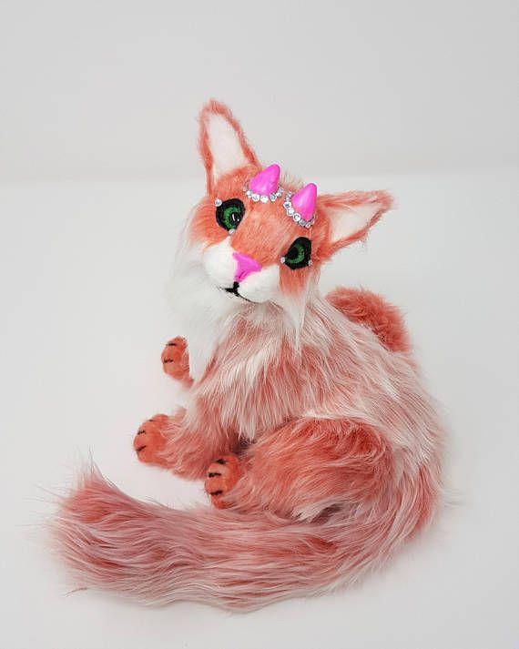 Poseable art doll animal  Handmade  ooak  fantasy animal