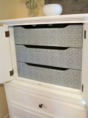 Tips for painting cabinets.: Drawers Front, Paintings Furniture, Interiors Drawers, Painting Furniture, Cabinets Paintings, Paintings Cabinets, Furniture Paintings, Furniture Ideas, Stencil