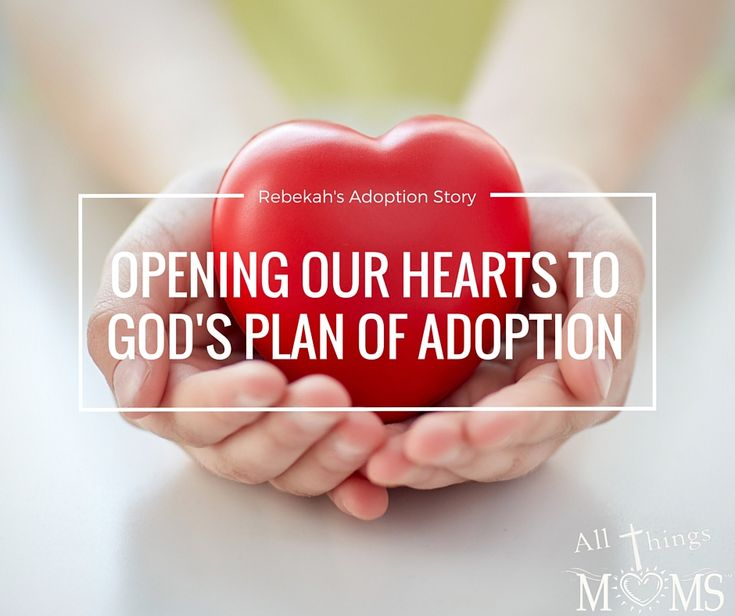 Adoption, our story. Opening our hearts to God's for our family. http://allthingsmoms.com/rebekahs-adoption-story/