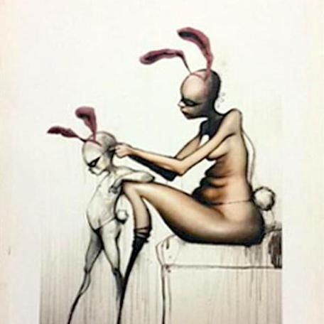 SOLD - Permission - Giclee Limited Edition Print - Herakut