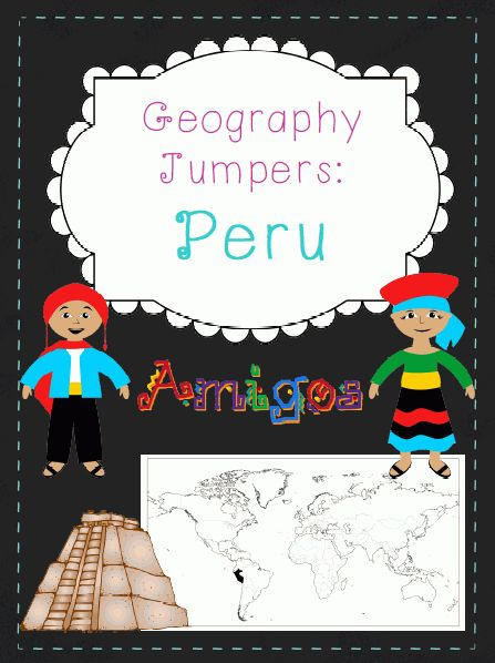 ****Free!**** Download soon so you can become acquainted with my Geography Jumpers series!!! This unit explores the country, the continent it's located in, it's flag, and many other facts, including it's culture and what school is like there. This is one unit in a series that includes 22 countries. This series is perfect for preschoolers, Pre-k, Kindergarten, first grade, second grade, PPCD, and Special Education.