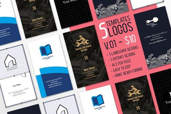 $10 for 5 - Business Card 01  by ihsankl on @creativemarket