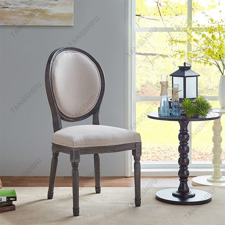 Factory wholesale cheap white Holloway Oval Side dining chair for sale