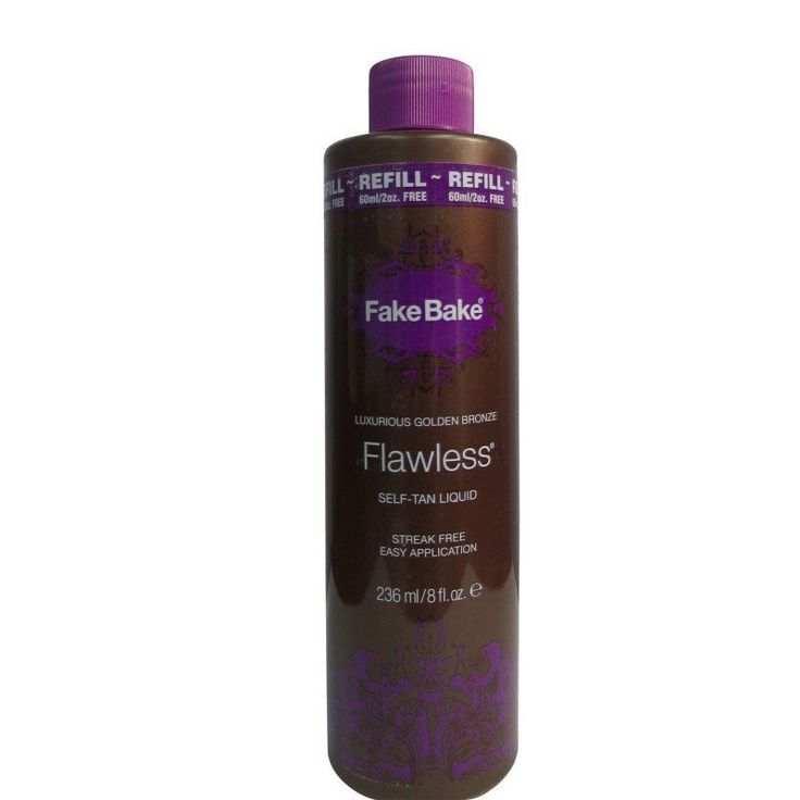 Fake Bake Flawless 8-ounce Self-Tan Liquid Refill (8 ounces), Tan
