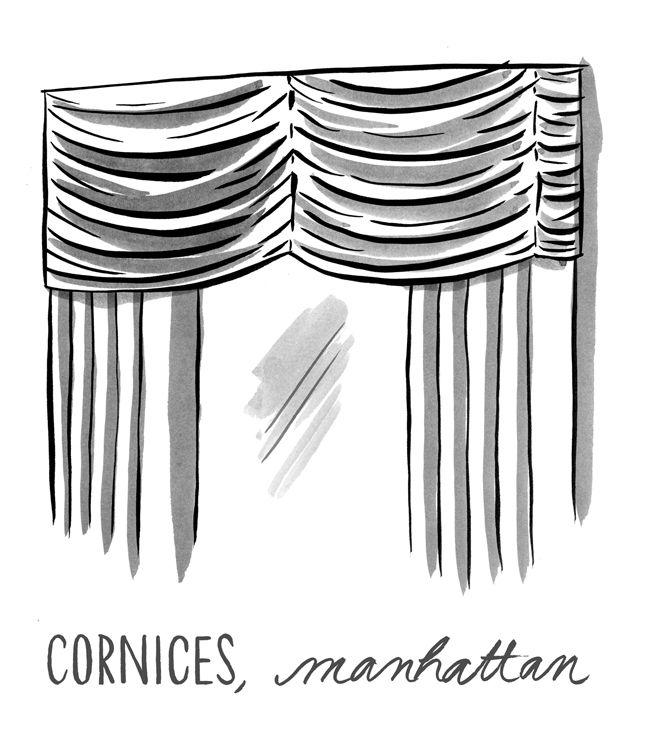 Manhattan cornice.