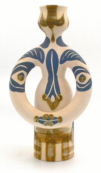 Pablo Picasso, Femme Lampe (France 1955) (via rachel comey)