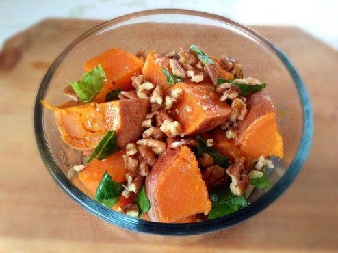 Paleo Maple Syrup Salad