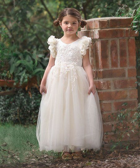 a5e1b671d62d Trish Scully Child White Bianca Gown - Girls