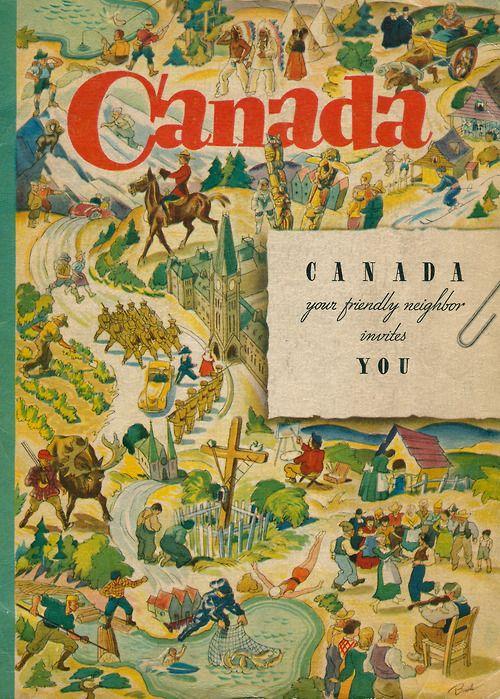 Cover,Canada, Your Friendly Neighbor,1938