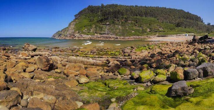 Playa de Merón en Villaviciosa
