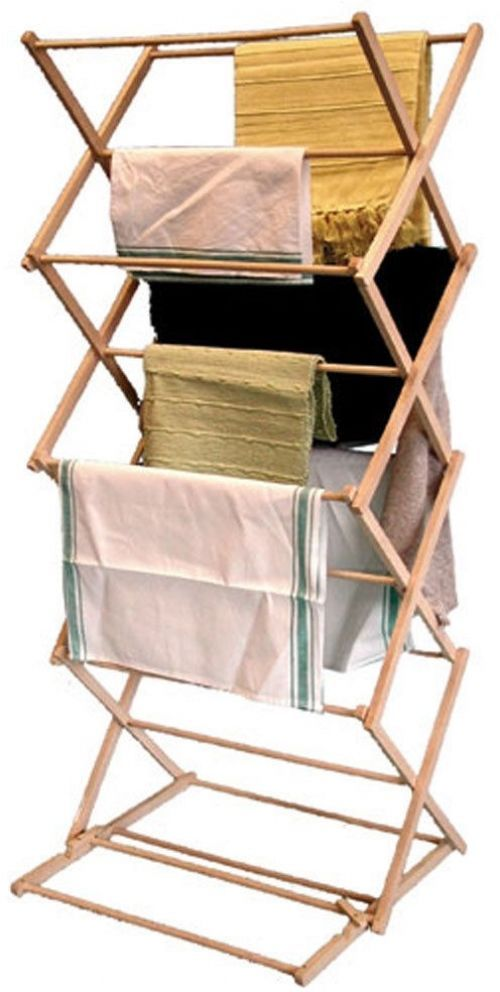 Clothes Airer Dryer Indoor Drying Space Saver Folding Clothes Rack Free  Standing Http://