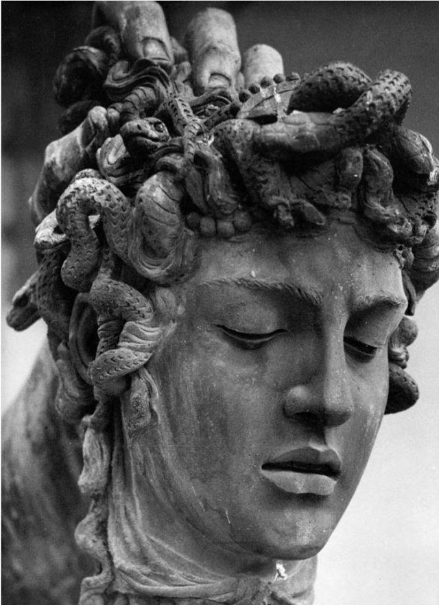 Benvenuto Cellini - Head of Medusa (detail) (1545-54)