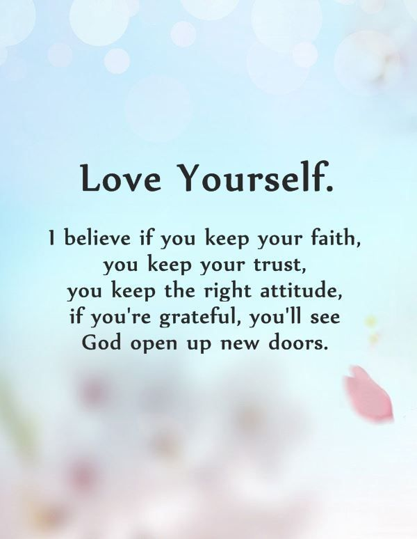 10 Positive Quotes Why First Love Yourself Should Awesome