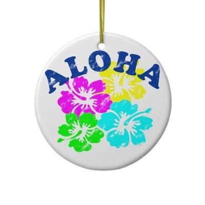 87 best Christmas Trees Hawaiian images on Pinterest  Christmas