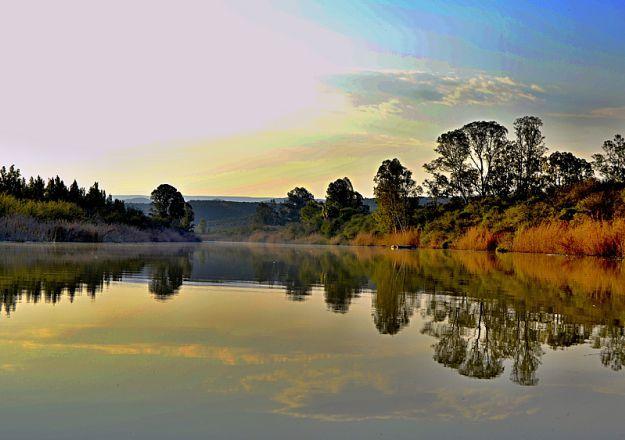 Beautiful views at Umlambo Farm Stay Bed And Breakfast in Kirkwood.