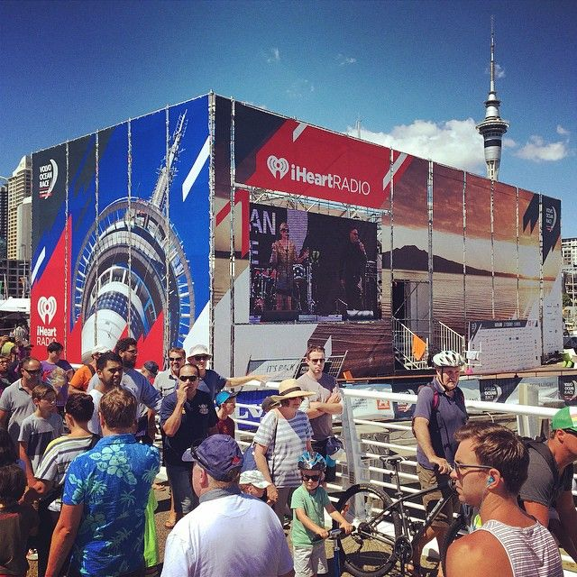 Have you got down to the Volvo Ocean Race Village yet? Check out the great stage produced by Dallowboss Design featuring some stunning imagery by photonewzealand photographers #VolvoOceanRace #auckland #wynyardquarter