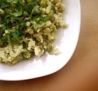 risotto - (robione bylo bez groszku, śmietana 18%)