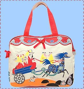Moomins shopper bag