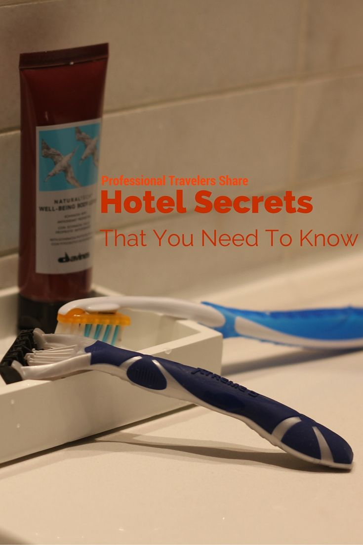 Hotel Secrets You Need to Know #sponsored #TheIndisposables