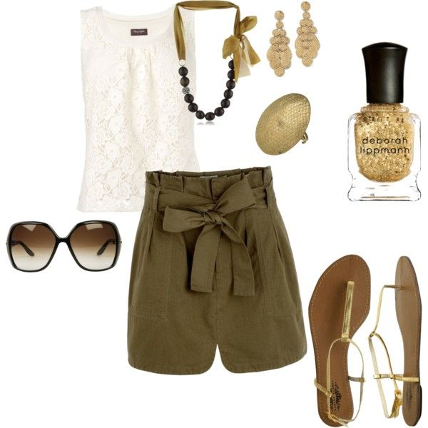 Travel chic.  I can picture myself walking through Venice in this outfit.  <3