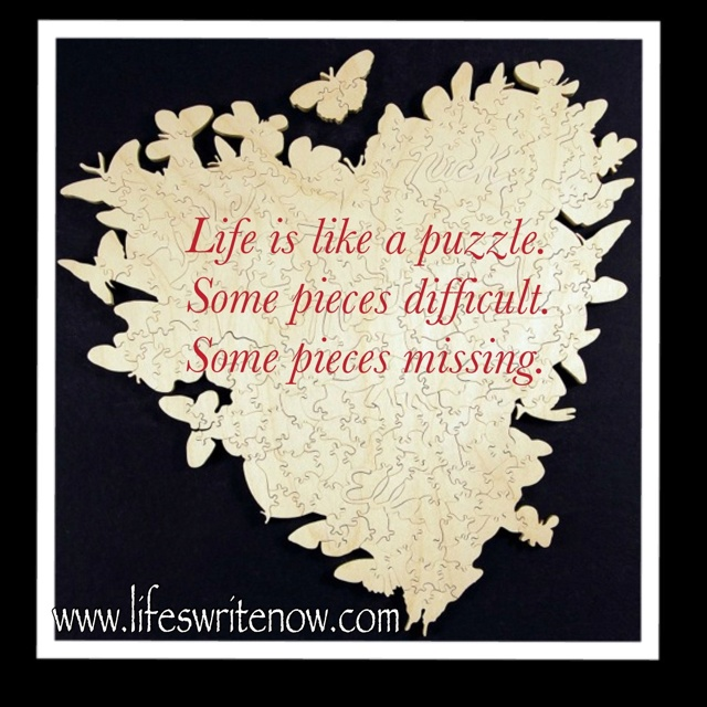 Life Is Like A Puzzle Quotes