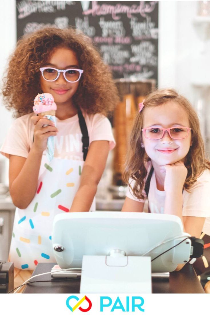 Kids glasses for girls and boys that are affordable fun