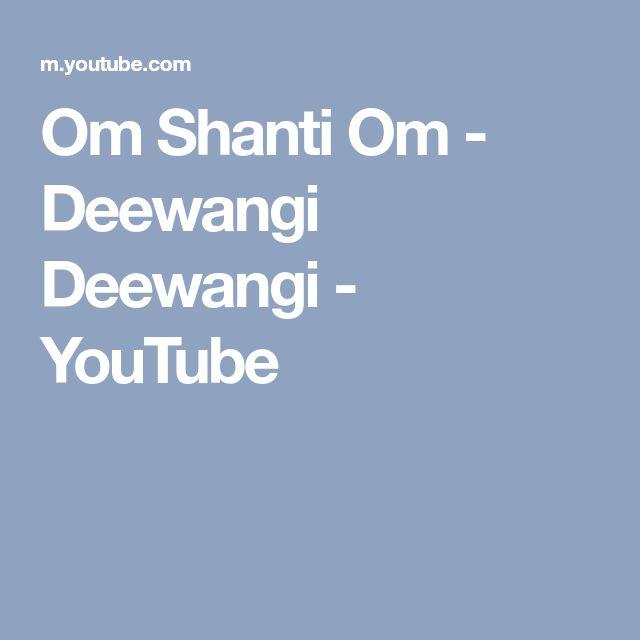 Om Shanti Om - Deewangi Deewangi - YouTube