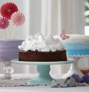 Guinness fudge cake with cloud icing