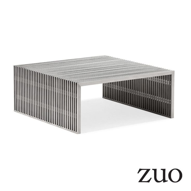 Zuo Modern Novel Square Coffee Table